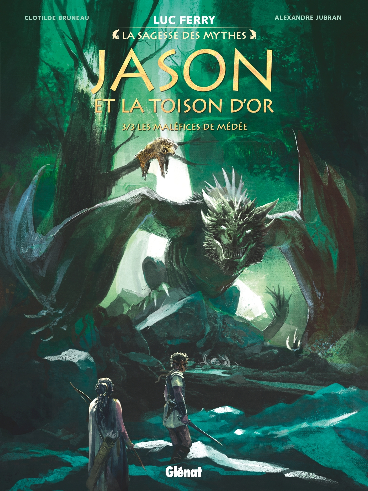 JASON ET LA TOISON D'OR - TOME 03 - LES MALEFICES DE MEDEE