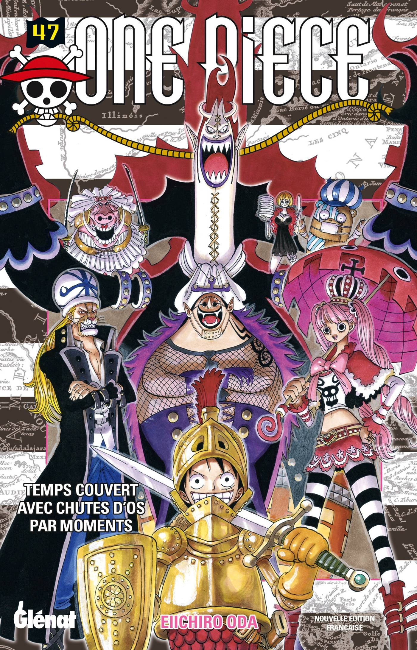 ONE PIECE - EDITION ORIGINALE - TOME 47 - TEMPS COUVERT AVEC CHUTES D'OS PAR MOMENTS