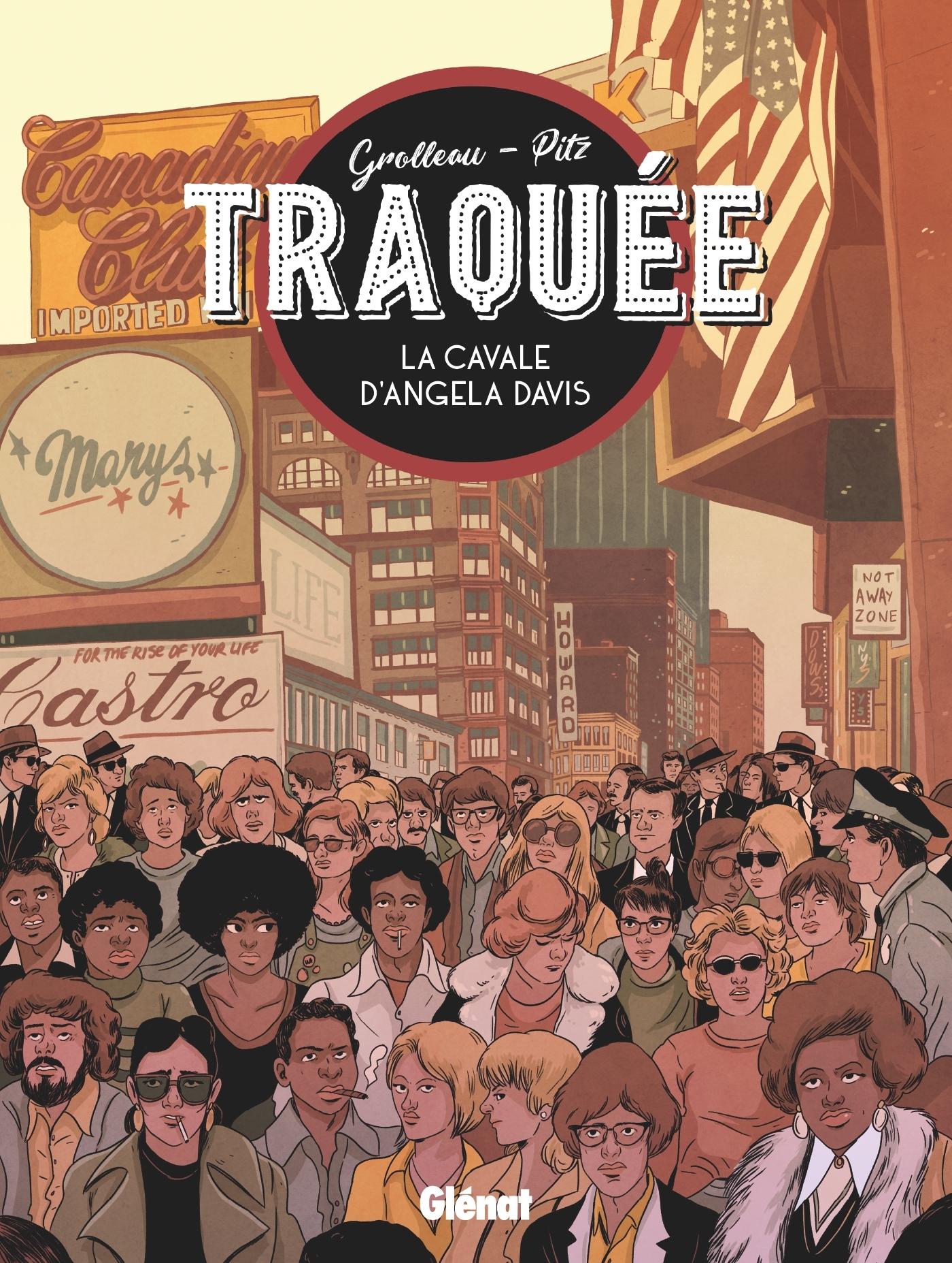 ANGELA DAVIS - TRAQUEE - LA CAVALE D'ANGELA DAVIS