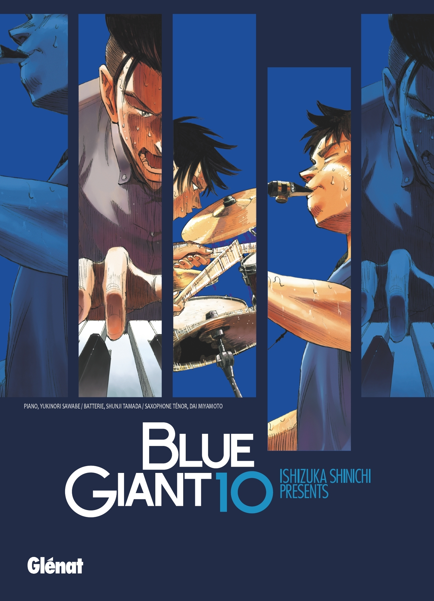BLUE GIANT - TOME 10 - TENOR SAXOPHONE - MIYAMOTO DAI