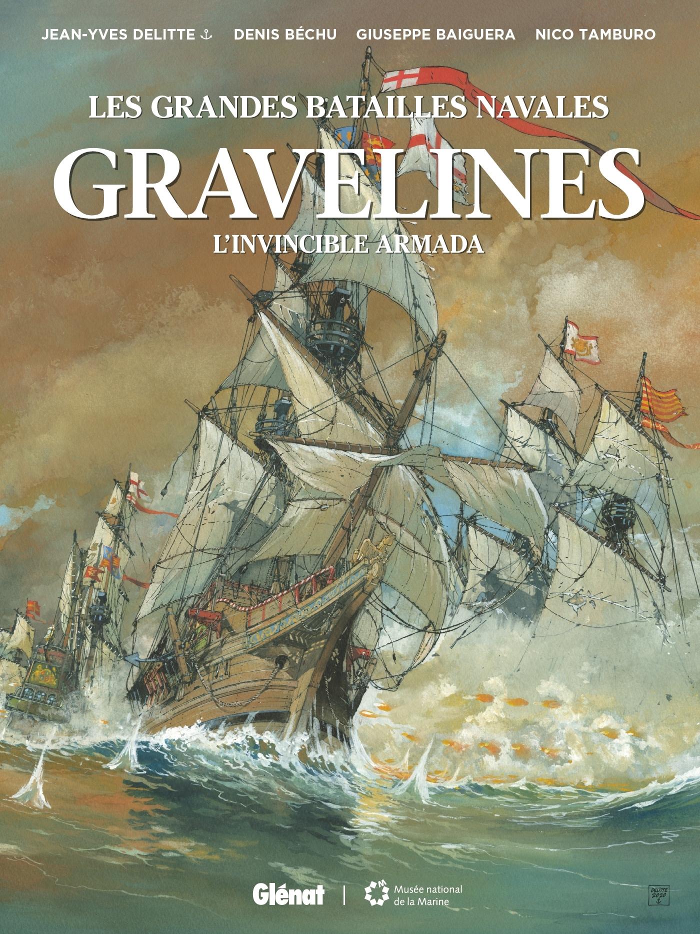 LES GRANDES BATAILLES NAVALES - GRAVELINES - L'INVINCIBLE ARMADA