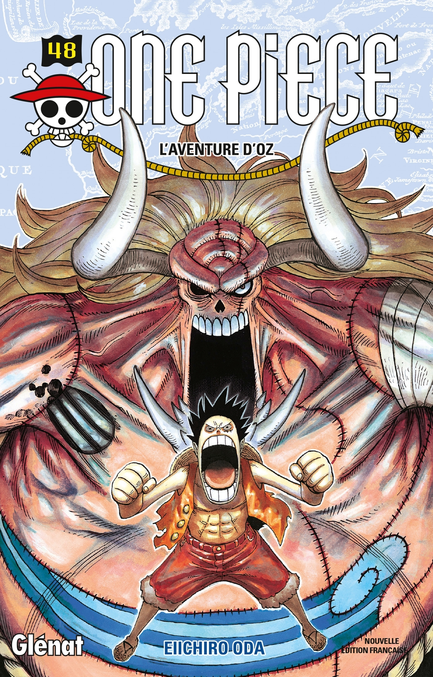ONE PIECE - EDITION ORIGINALE - TOME 48 - L'AVENTURE D'OZ