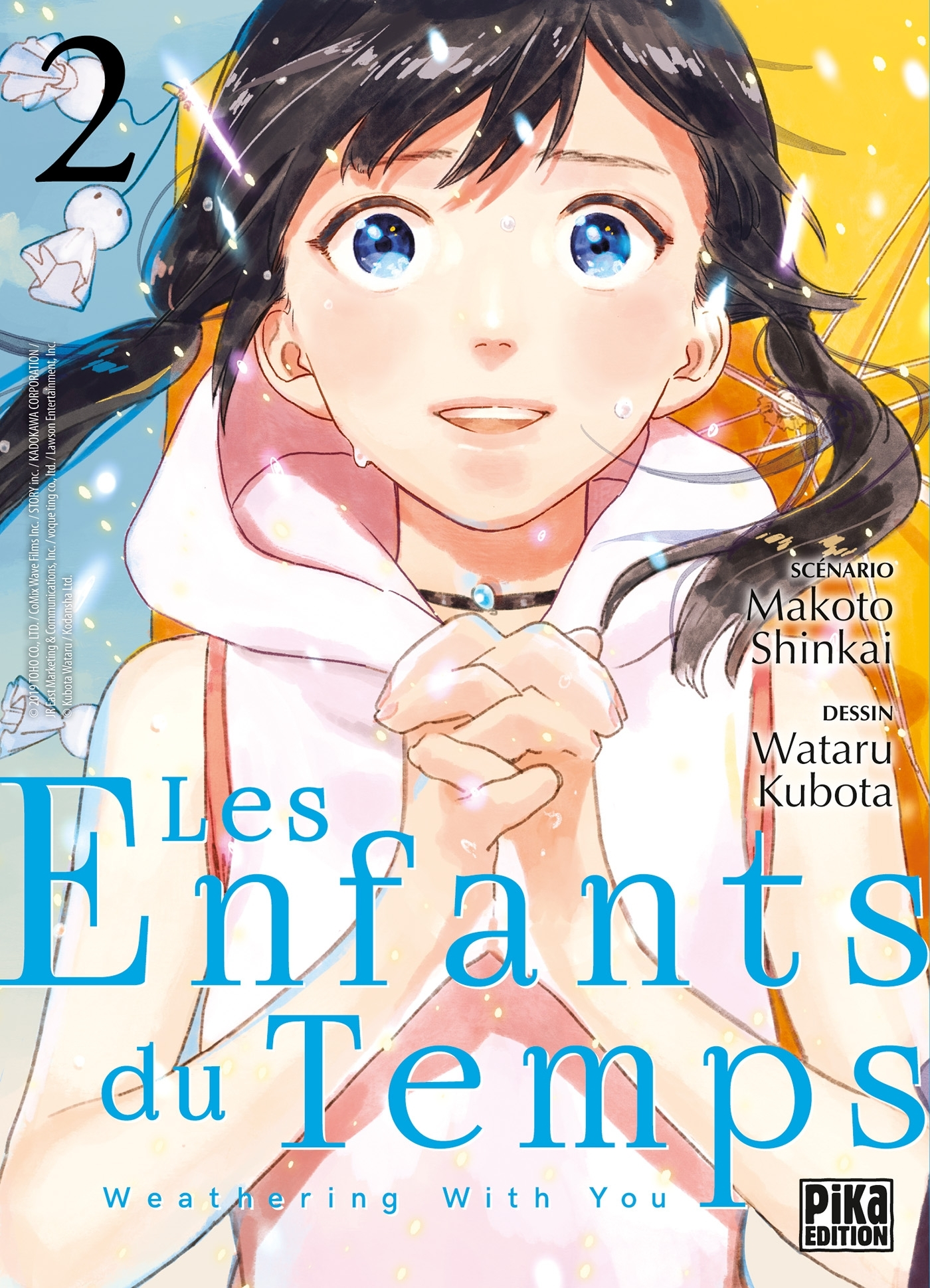 LES ENFANTS DU TEMPS T02 - WEATHERING WITH YOU