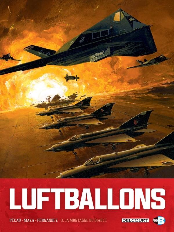 LUFTBALLONS T03 - LA MONTAGNE DU DIABLE
