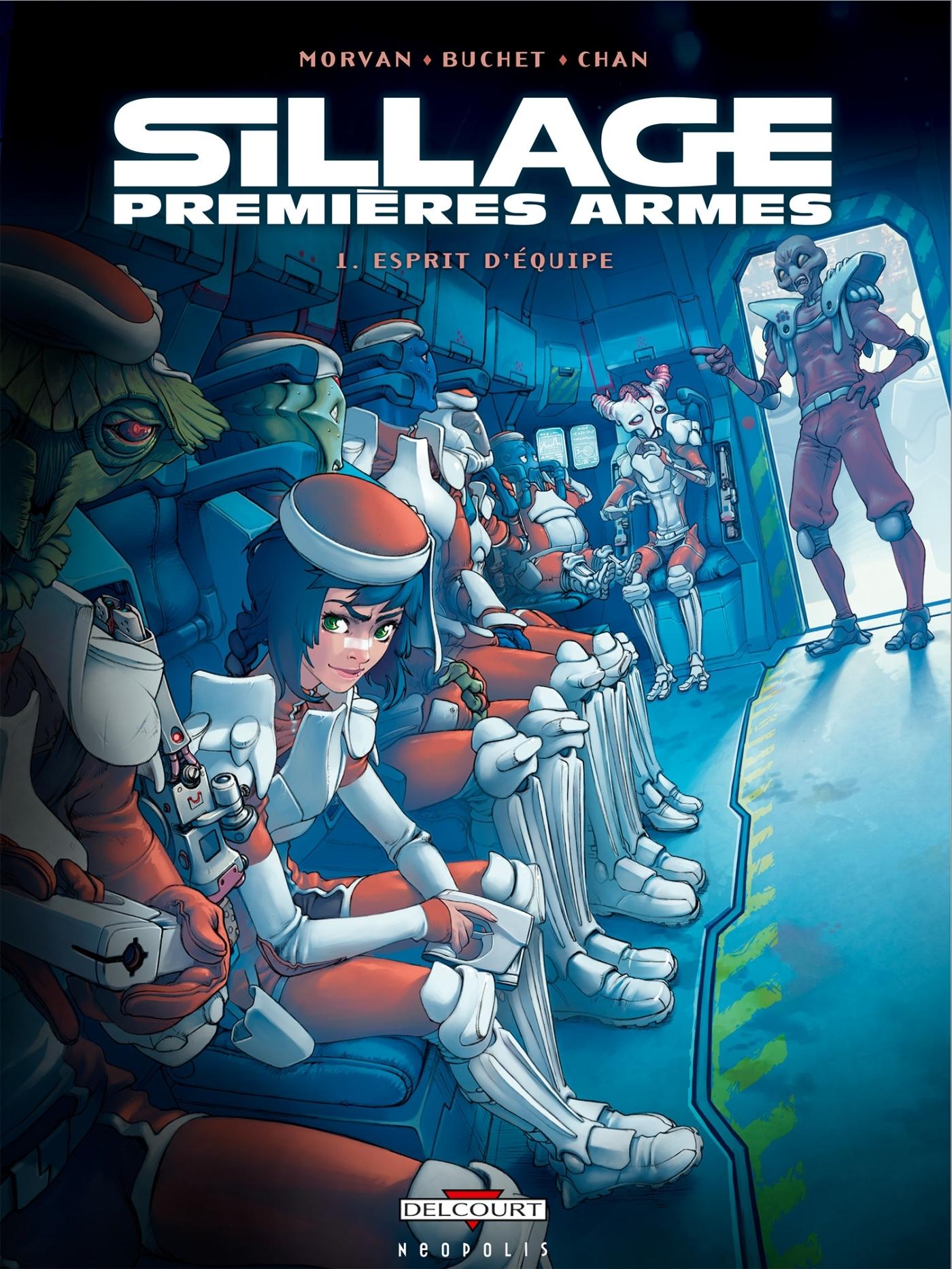 SILLAGE - PREMIERES ARMES - PACK - SILLAGE - PREMIERES ARMES - ETUI JAQUETTE T.1 + T.2