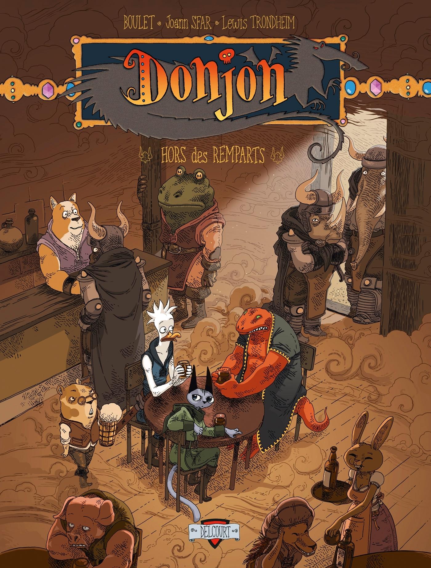 DONJON ZENITH T07 - HORS DES REMPARTS
