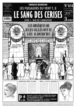 LES PASSAGERS DU VENT T08 - LE SANG DES CERISES JOURNAL 1/4