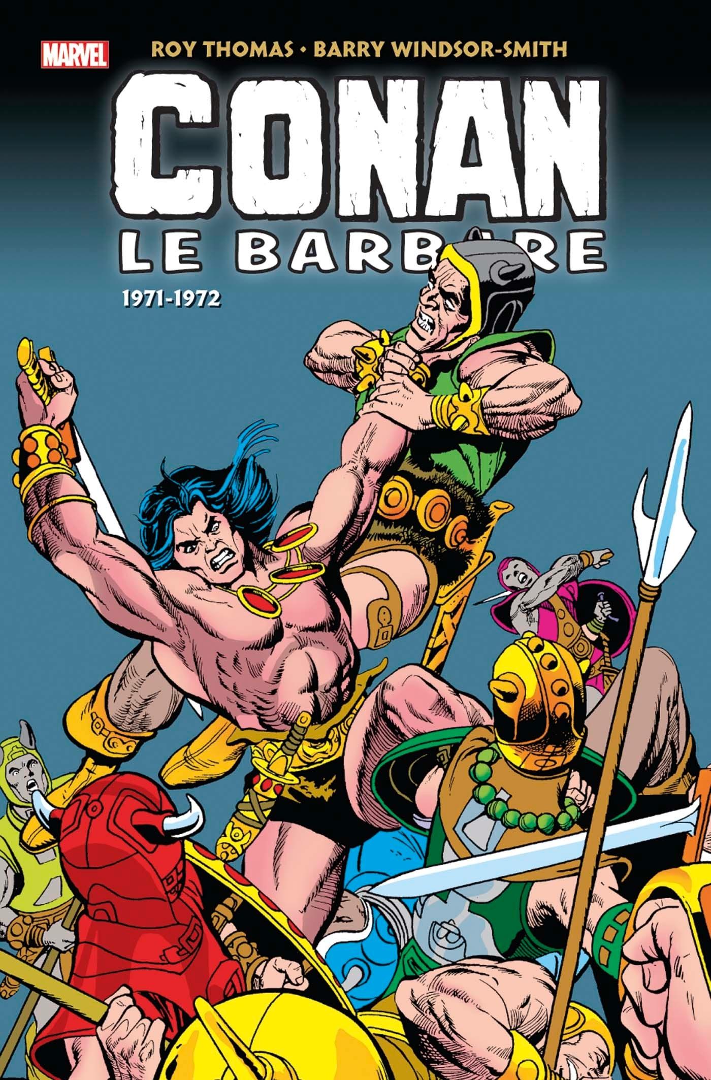 INTEGRALE CONAN LE BARBARE T02 (1971-1972)