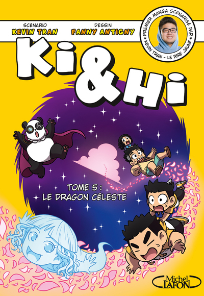 BD - KI & HI - TOME 5 LE DRAGON CELESTE - VOL05