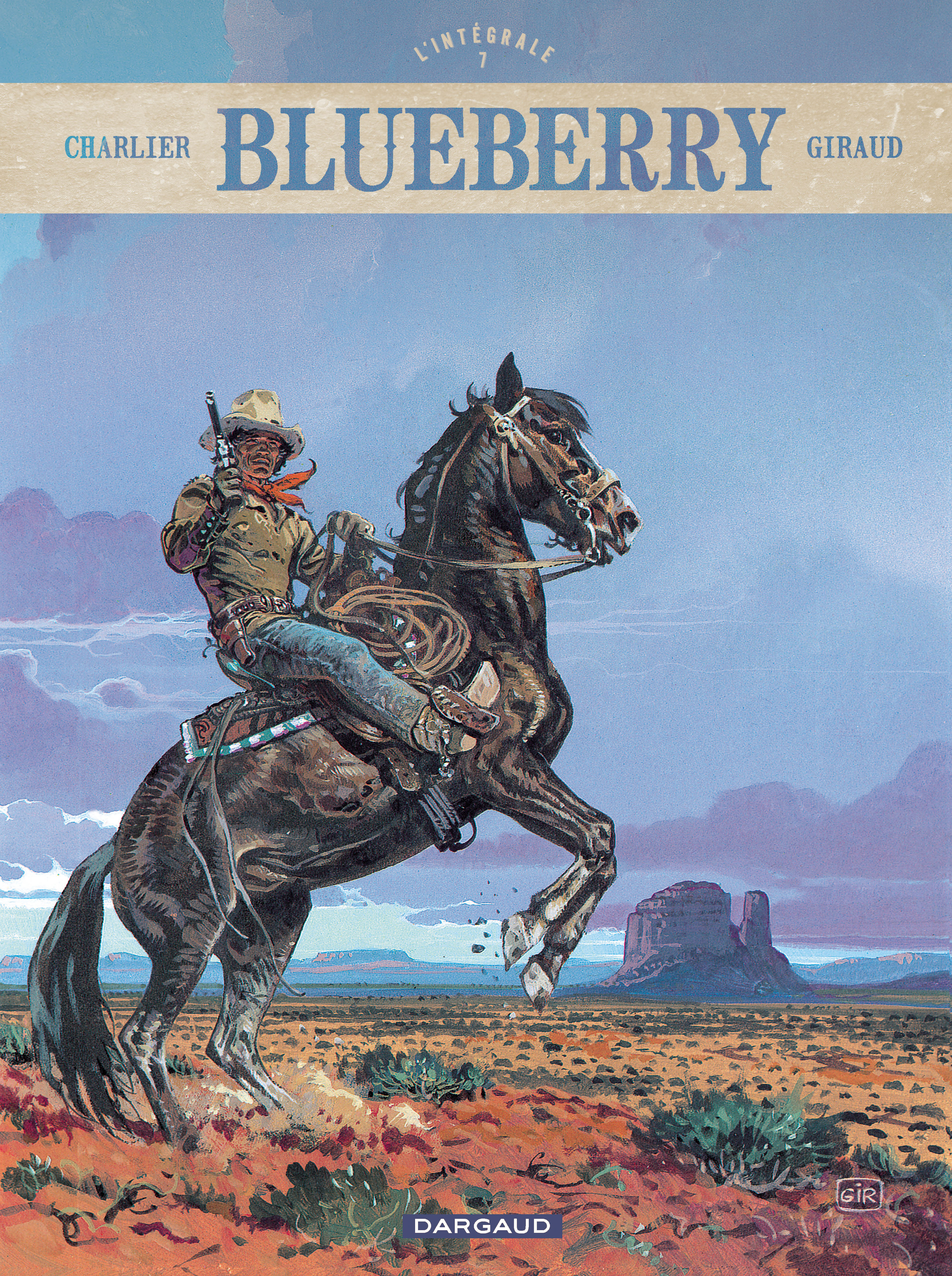 BLUEBERRY-INTEGRALE-TOME 7 - BLUEBERRY - INTEGRALE