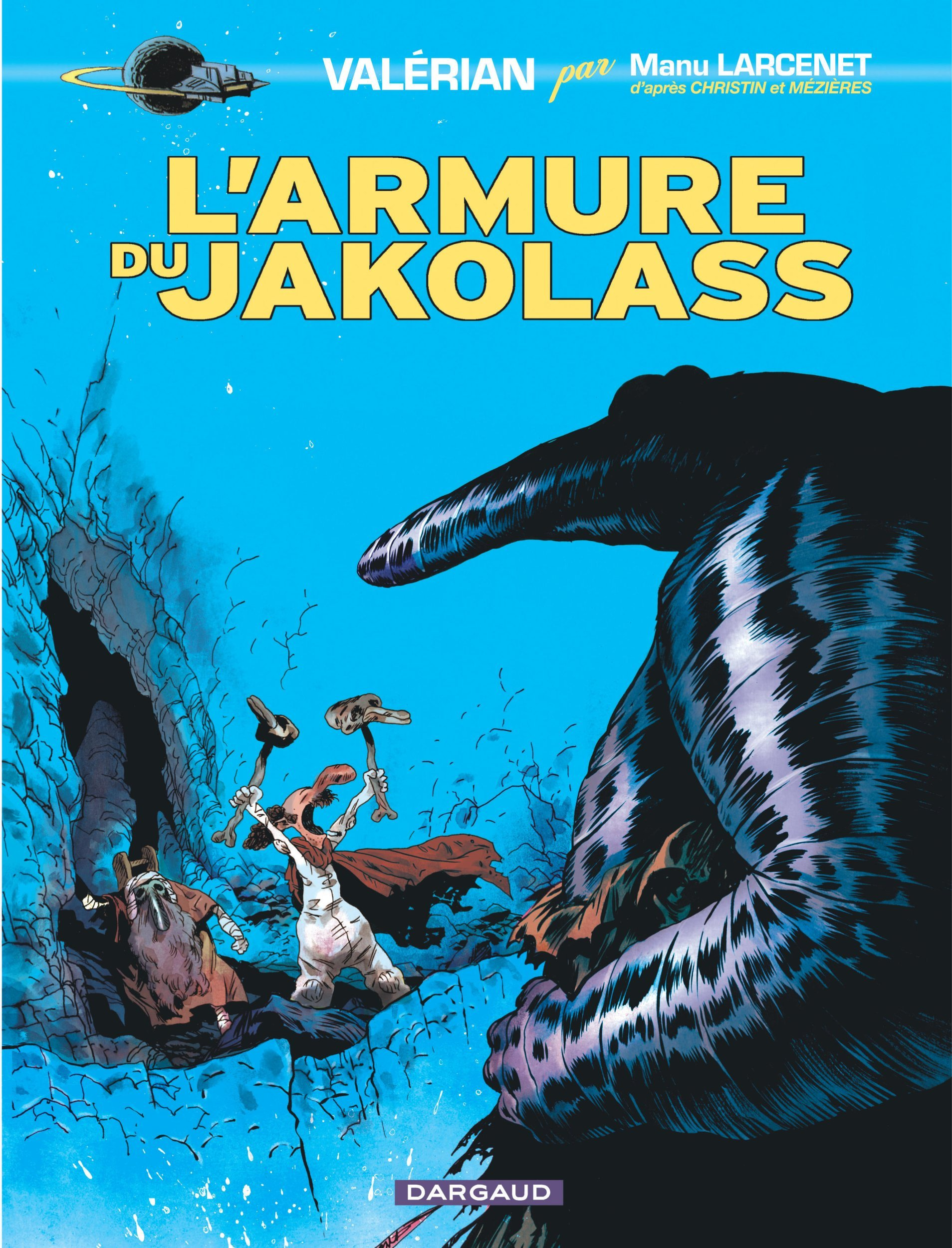 VALERIAN, VU PAR... - TOME 1 - L'ARMURE DU JAKOLASS (1)
