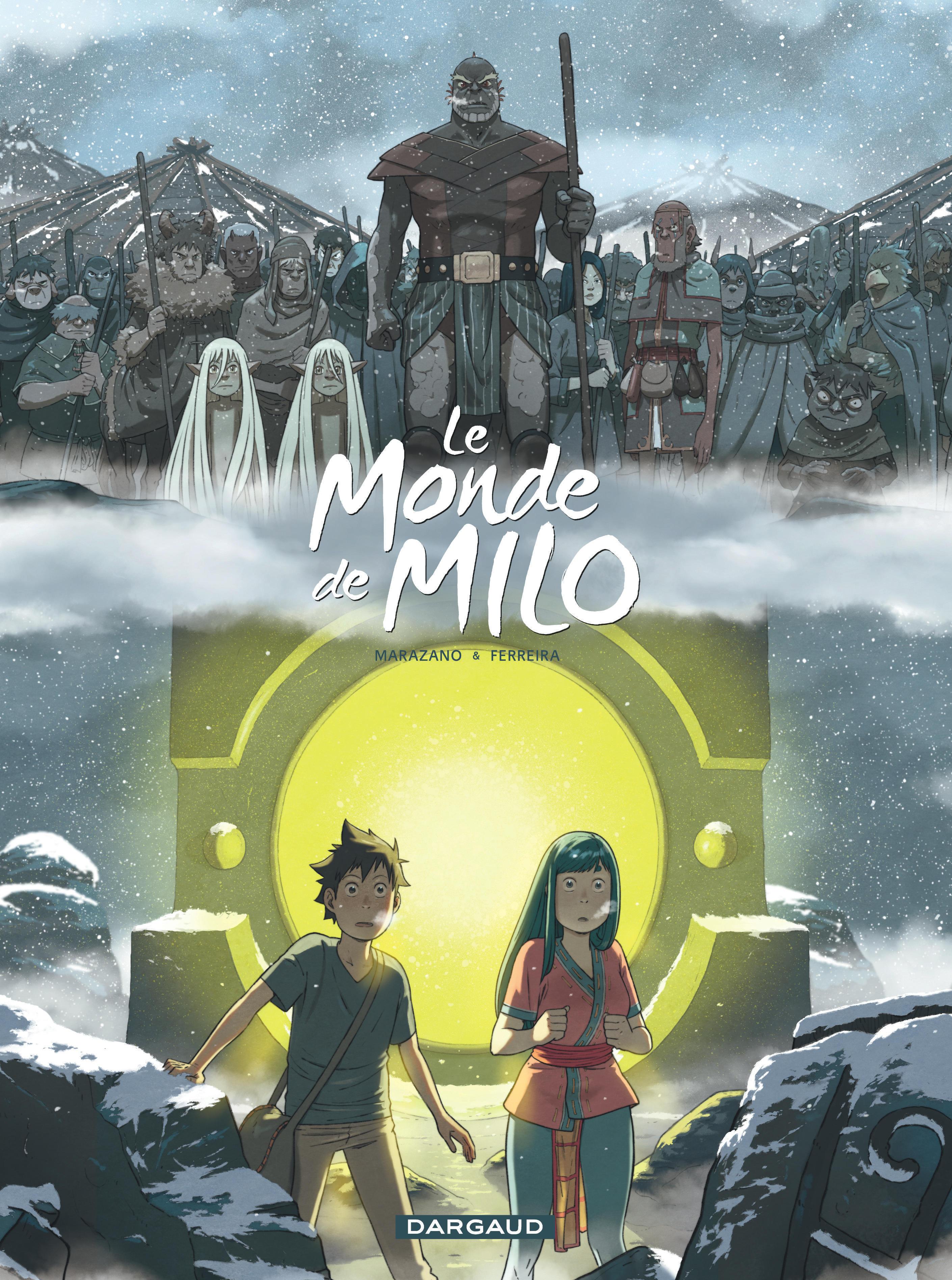 LE MONDE DE MILO  - TOME 7 - LE MONDE DE MILO - TOME 7
