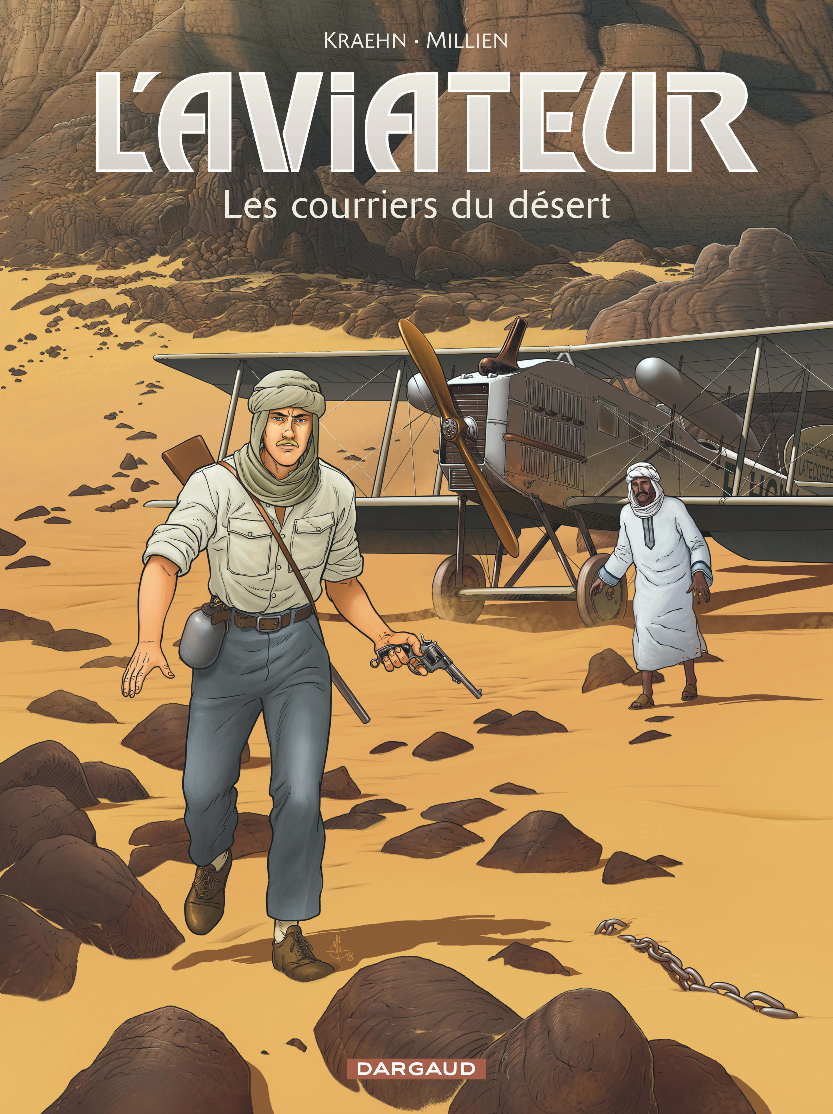 AVIATEUR (L') - TOME 3 - LES COURRIERS DU DESERT - L'AVIATEUR