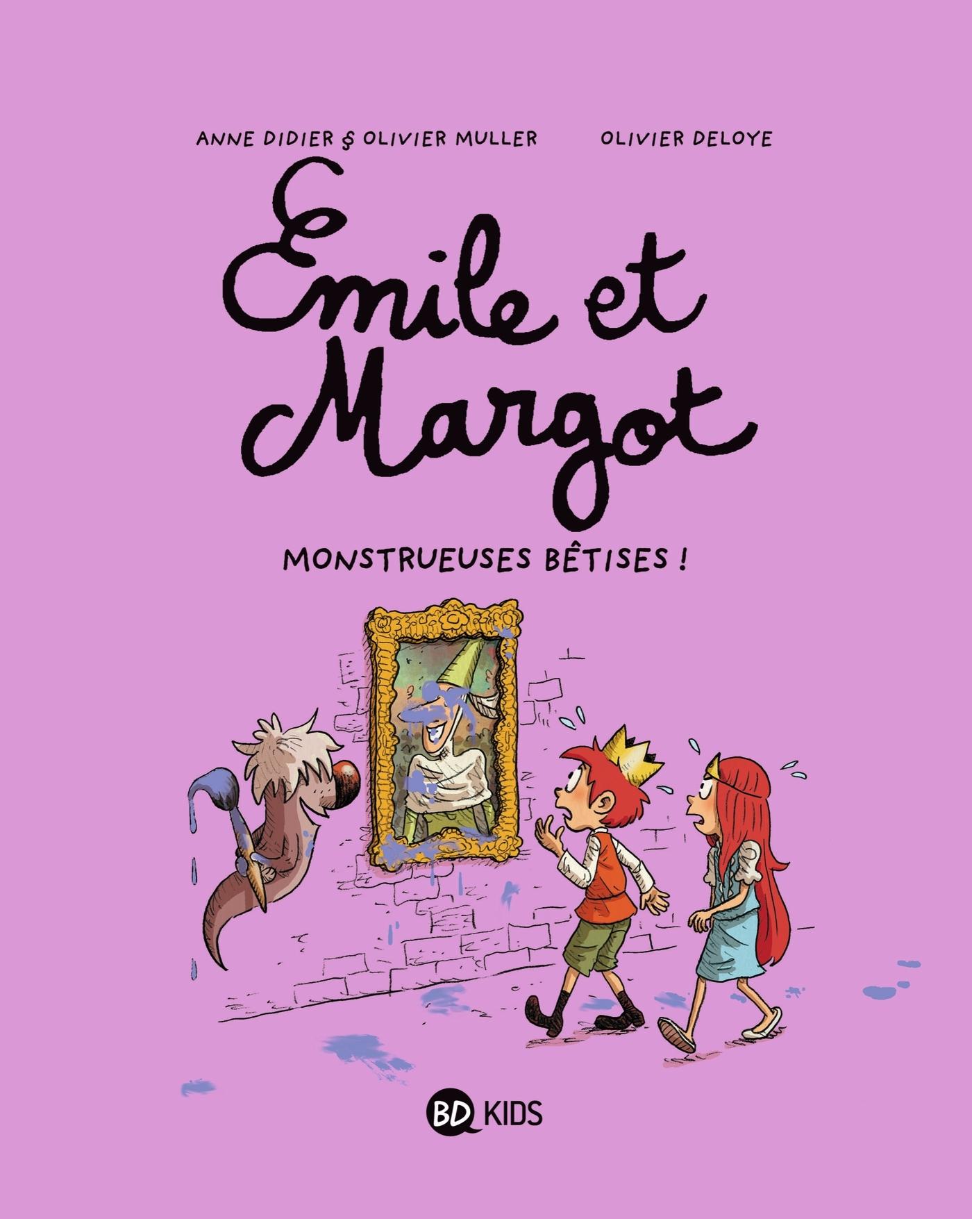 EMILE ET MARGOT, TOME 02 - MONSTRUEUSES BETISES