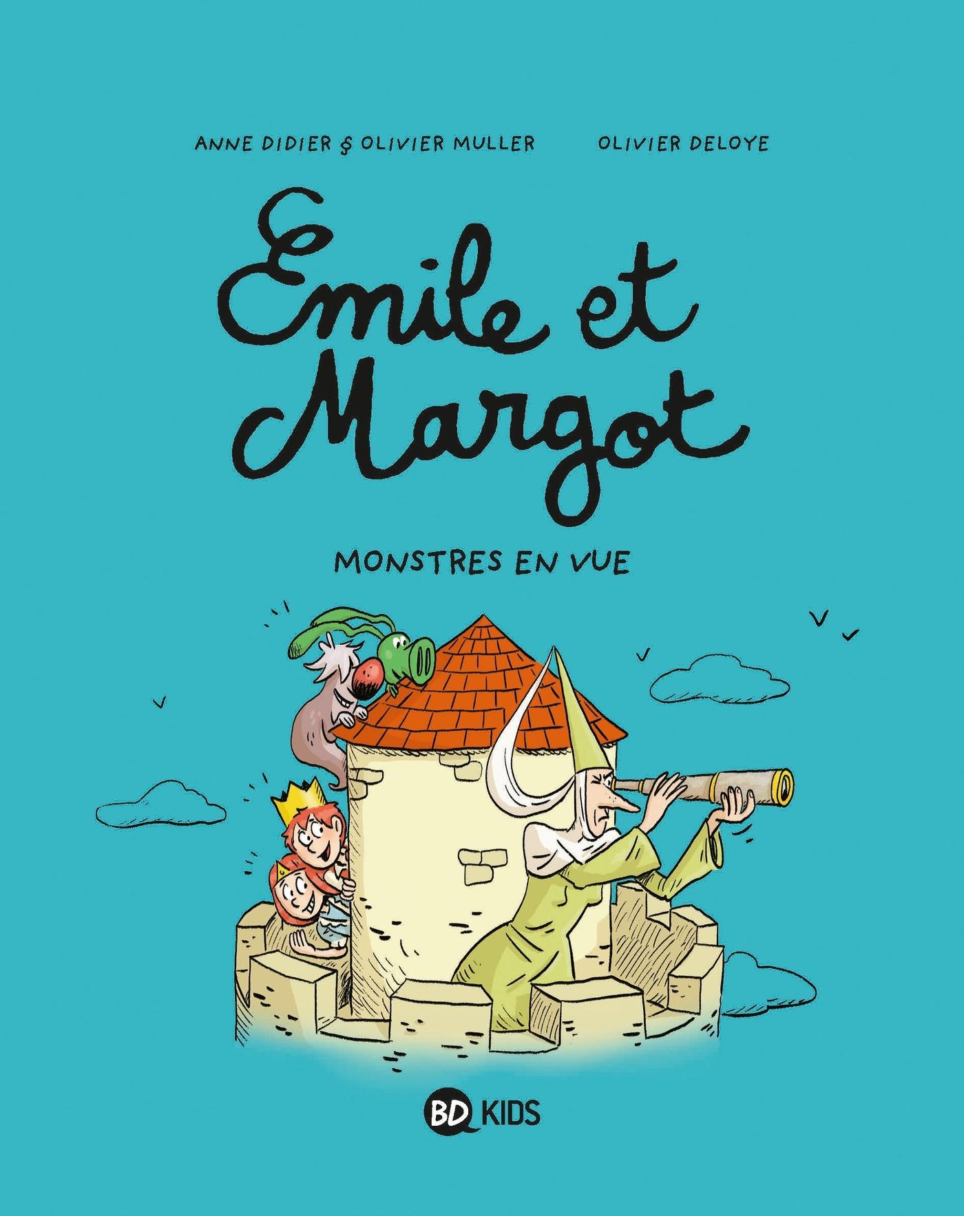 EMILE ET MARGOT, TOME 08 - MONSTRES EN VUE !