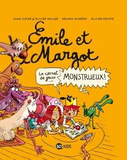EMILE ET MARGOT, TOME 99 - EMILE ET MARGOT - CAHIER DE JEUX