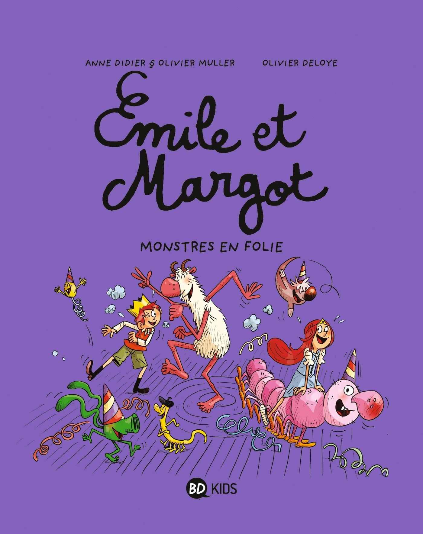 EMILE ET MARGOT, TOME 07 - MONSTRES EN FOLIE !