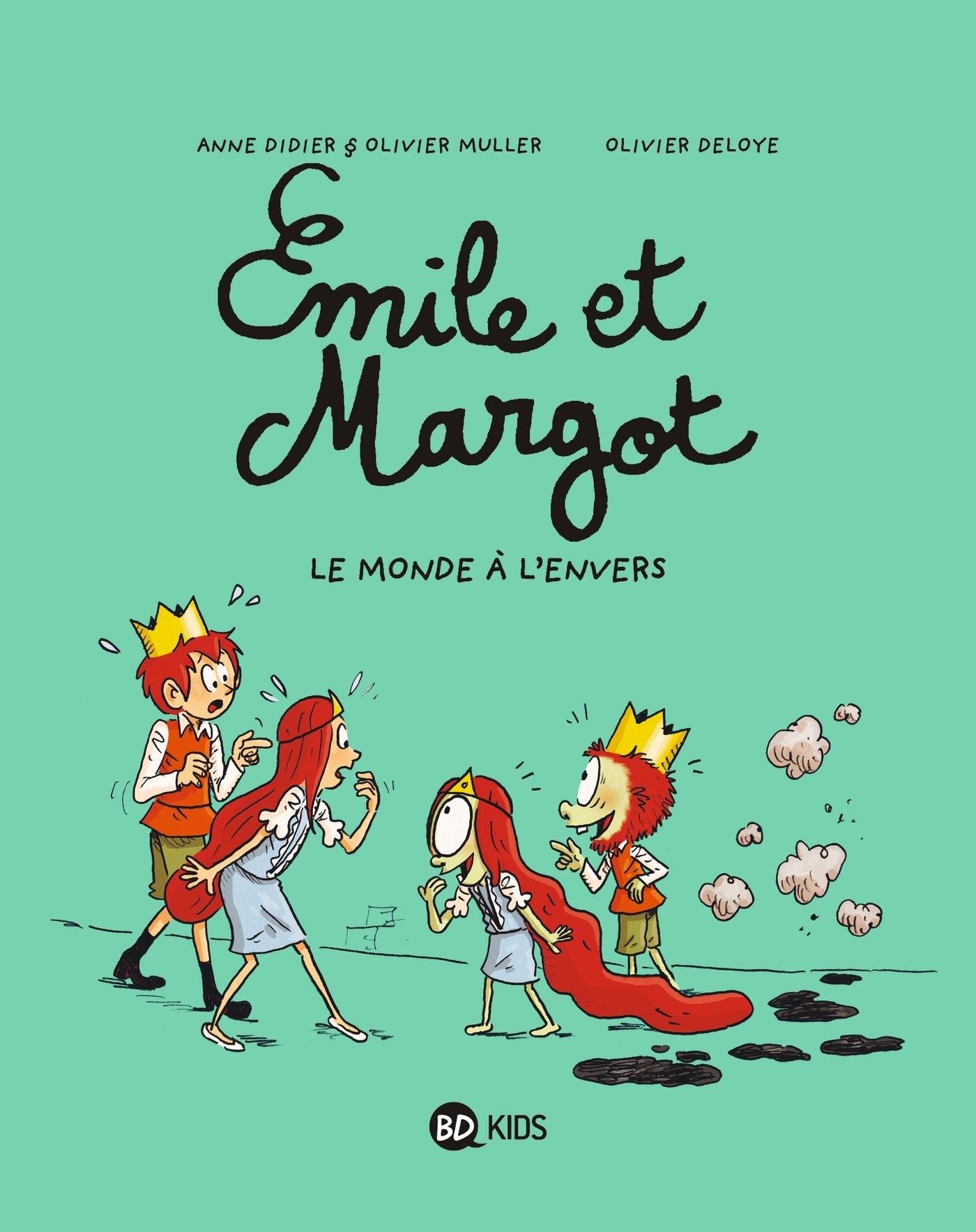 EMILE ET MARGOT, TOME 05 - LE MONDE A L'ENVERS