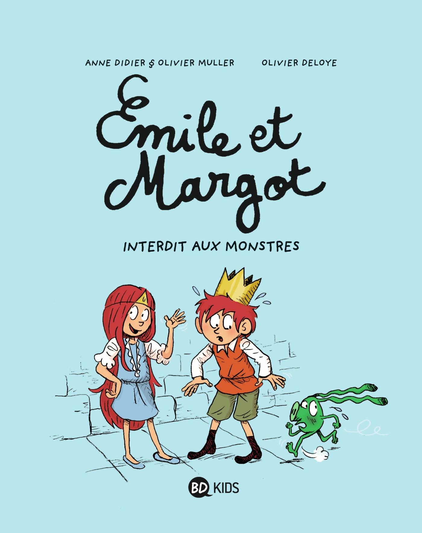 EMILE ET MARGOT, TOME 01 - INTERDIT AUX MONSTRES