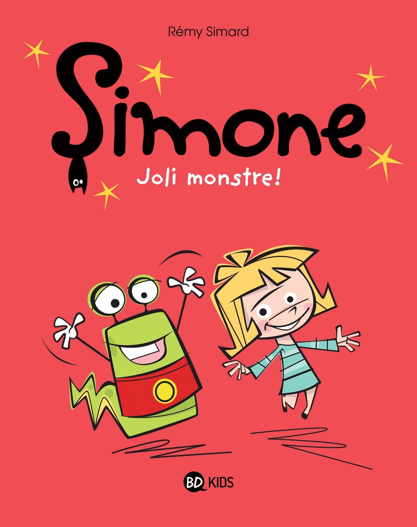 SIMONE , TOME 01 - SIMONE, JOLI MONSTRE !
