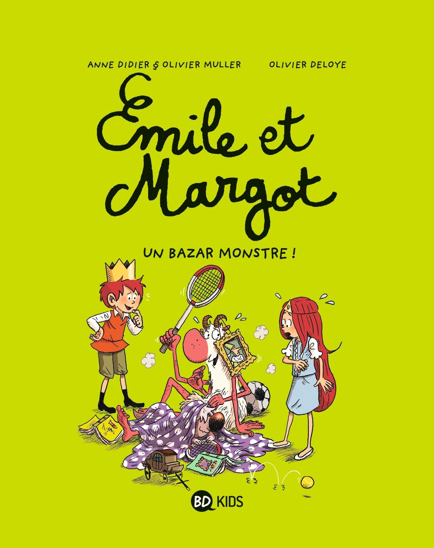 EMILE ET MARGOT, TOME 03 - UN BAZAR MONSTRE