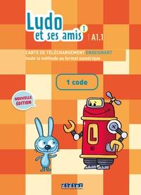 Ludo et ses amis 1 niv.A1.1 (éd.2015) - Carte de téléchargement 1 code