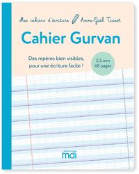 MDI Mes cahiers d'écriture Cahier Gurvan 2,5 mm - 2020