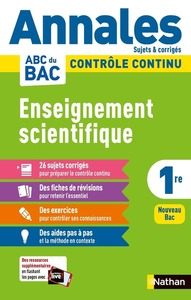 Annales Bac 2021 - Enseignement Scientifique 1re Corrigé