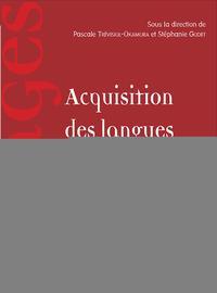 Acquisitions des langues