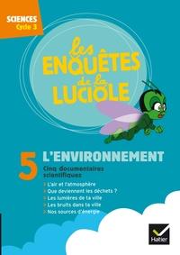 Les enquêtes de la luciole Cycle 3, L'environnement, DVD-Rom