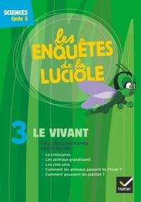 Les enquêtes de la luciole Cycle 3, Le vivant, DVD-Rom