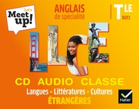 Let's meet up ! Langues, littératures et cultures étrangères Tle, Coffret CD audio classe