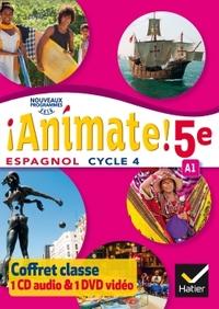 !Animate! Espagnol 5e - 1ère année, Coffret CD audio classe + DVD video