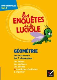 Les enquêtes de la luciole Cycle 3, Géométrie Lucie traverse les 3 dimensions, DVD-Rom