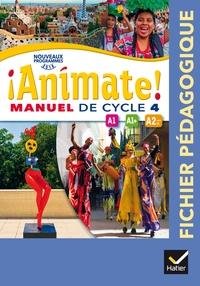 !Animate! Espagnol Cycle 4, Livre du professeur