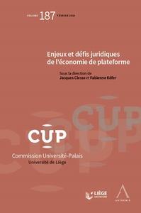 ENJEUX, DEFIS JURIDIQUES DE L ECONOMIE DE PLATEFORME