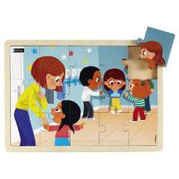 Puzzle bois - Le harcèlement - 15 pièces