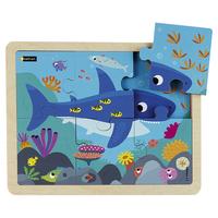 Puzzle bois - Le requin - 6p