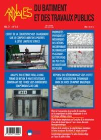 PROPRIETES PHYSIQUES ET MECANIQUES DES BETONS....ABTP 5-6 VOL 71 -2019-