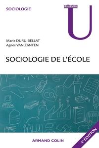 Sociologie de l'école - 4e éd.