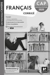 Français - Les nouveaux cahiers CAP, Livre du professeur