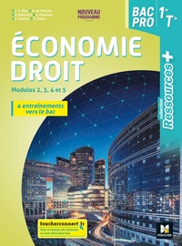 Economie Droit - Ressources + 1re, Tle Bac Pro, Livre de l'élève