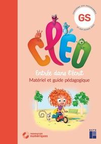 CLEO GS - Entrée dans l'écrit - Guide pédagogique + 160 pages cartonnées prédécoupées + CD-ROM