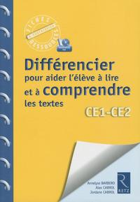 Fiches ressources - duplifiches CE1/CE2, Différencier pour aider l'élève à lire
