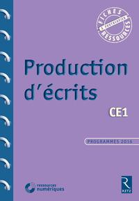 Fiches ressources - duplifiches CE1, Production d'écrits