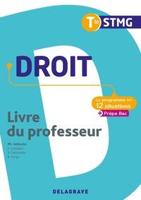 Droit - Le programme en situations Tle STMG, Livre du professeur