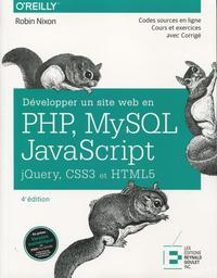 DEVELOPPER UN SITE WEB EN PHP MYSQL ET JAVASCRIPT JQUERY CSS3 ET HTML5