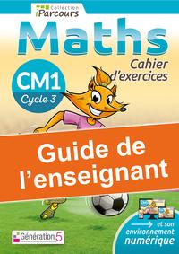 Guide de l'enseignant cahier iParcours maths CM1 (2020)