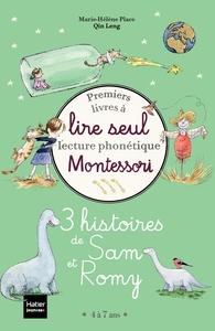 Coffret premiers livres à lire seul - 3 histoires de Sam et Romy niveau 3 - Pédagogie Montessori