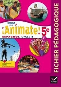 !Animate! Espagnol 5e - 1ère année, Livre du professeur
